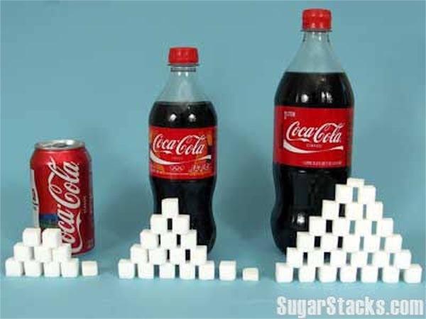 コーラにはとんでもない砂糖の量が入ってる!なぜ砂糖の摂りすぎは身体に悪いのか?砂糖をやめると身体に驚くべき効果が表れる!