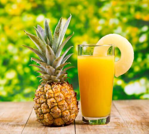パイナップルジュースには咳を止める効果があった!!咳止めシロップよりも効く?!薬を買う前にパイナップルジュースを飲んでみて!