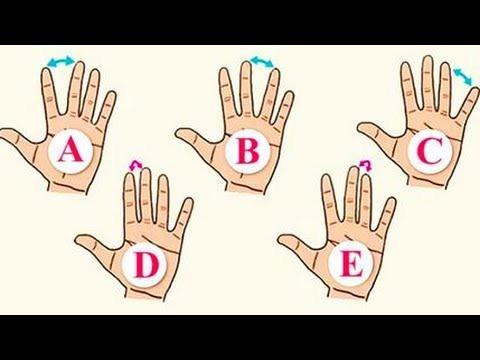 自分の手のひらをパッと開いた時に性格がわかる診断!!あなたはどのタイプ?